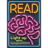 Read - Light Up Your Imagination Poster