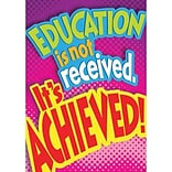ARGUS Poster; Education is not received…
