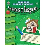 Sentences to Paragraphs For GR 2-3