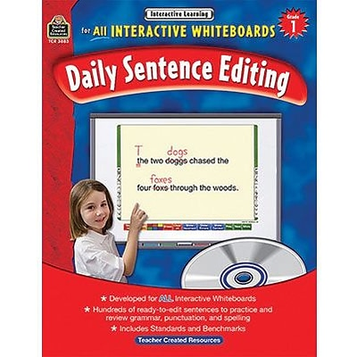 Interactive Learning, Daily Sentence Editing, Grade 1
