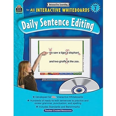 Interactive Learning, Daily Sentence Editing, Grade 2