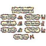 Teacher Created Resources Mini Bulletin Board Sets, Good Manners