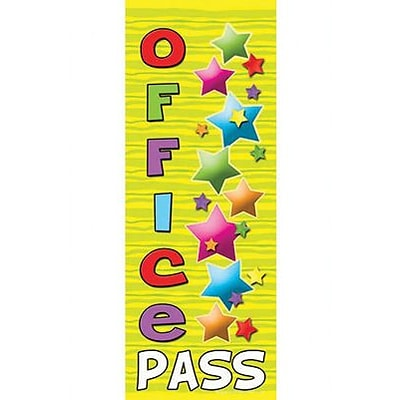 Top Notch Hall Passes, Office Pass