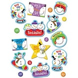 Creative Teaching Press Stickers, Snowmen