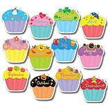 Creative Teaching Press 5938 10 Jumbo Cupcake Designer Cut-Outs