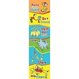 Cat In The Hat Class Rules Vertical Banner