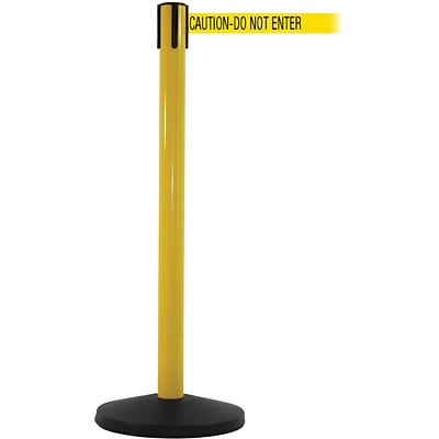 SafetyMaster 450 Yellow Retractable Belt Barrier w/8.5 Yellow/Black DO NOT ENTER Belt