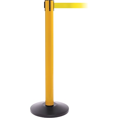 SafetyPro 300 Yellow Retractable Belt Barrier with 16 Yellow Belt