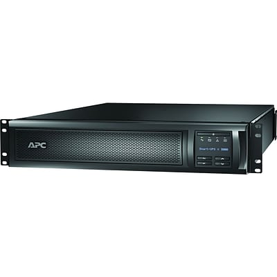 APC® SMX3000RMLV2UNC Line Interactive 3 kVA Rack Mountable Smart UPS