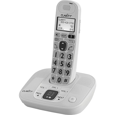 Clarity® D712 Cordless Phone; 100 Name/Number