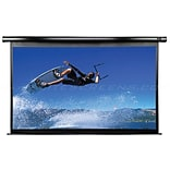 Elite Screens™ VMAX2 Series 165 Electric Wall and Ceiling Projector Screen; 4:3; White Casing
