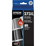 Epson 273XL Photo Black Ink Cartridge (T273XL120-S); High Yield