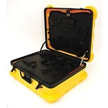 Platt Luggage 349T-SGSH Military Type Super-Size Tool Case, Yellow