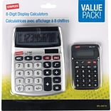 Staples 8-Digit Display Calculator (Value Pack)