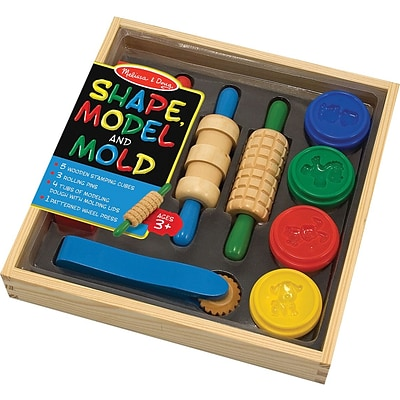 Melissa & Doug® Shape, Model & Mold Clay Play