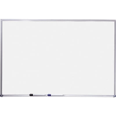 Quartet® Basic Whiteboard, 4 x 3, Aluminum Frame