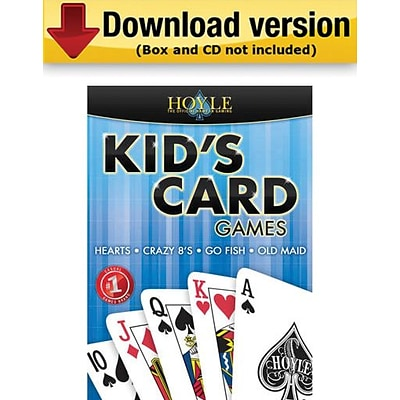 Encore Hoyle Kids Card Games for Windows (1-User) [Download]