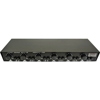 Calrad® 40-851 Autoformer Based Stereo Speaker Selector With Volume Controls; 6 Channel