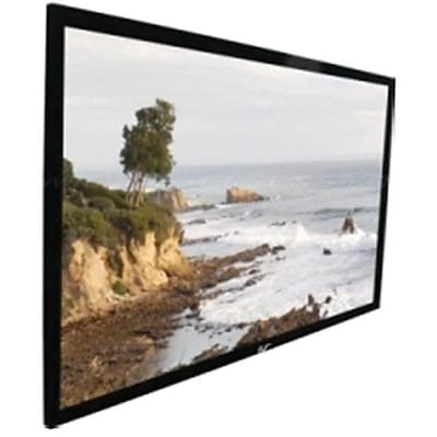 Elite Screens™ SableFrame Series 109 Wall Mount Projector Screen; 16:9; Black Aluminum Casing
