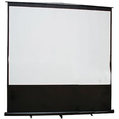 Elite Screens™ Reflexion Series 100 Pull Up Tabletop Portable Projector Screen; 16:9; Black Casing