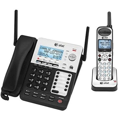 VTech® AT&T SynJ® SB67138 4 Line Corded/Cordless System