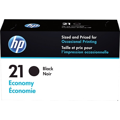 HP 21 Black Ink Cartridge, Economy