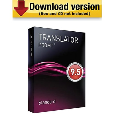 PROMT Standard Multilingual Translator for Windows (1-User) [Download]