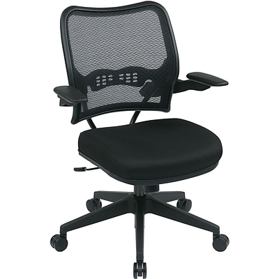 Office Star® SPACE® Fabric Task Office Chair with Deluxe Air Grid® Back, Black
