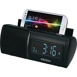 Bluetooth FM Clock Radio w/USB Charging
