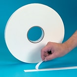 Tape Logic™ 3/4 x 72 yds. Double Coated Foam Tape, White, 2/Pack