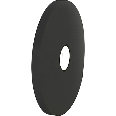 Tape Logic™ 1 x 36 yds. Double Coated Foam Tape, Black, 2/Pack