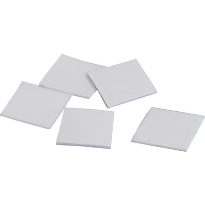 Tape Logic™ 1 x 1 Removable Double Coated Foam Square, White, 324 Squares/Roll, 1 Roll/Case