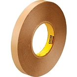 3M™ 1 x 72 yds. Double Coated Film Tape 9425, Clear, 2/Pack