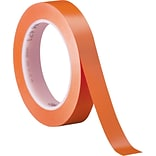 3M™ 1/2 x 36 yds. Solid Vinyl Safety Tape 471, Orange,  3/Pack