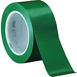 3M™ 2 x 36 yds. Solid Vinyl Safety Tape 471, Green,  3/Pack