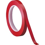 3M™ 1/4 x 36 yds. Solid Vinyl Safety Tape 471, Red, 3/Pack