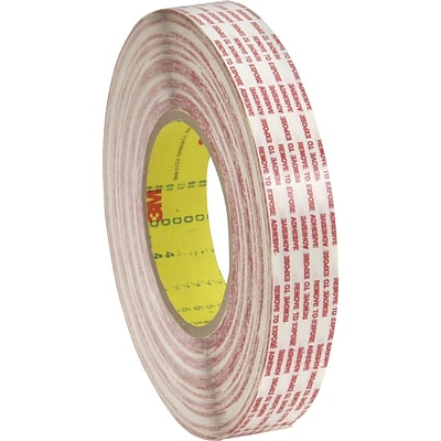 3M™ 3/4 x 540 yds. Double Sided Extended Liner Tape 476XL, Translucent, 8/Case