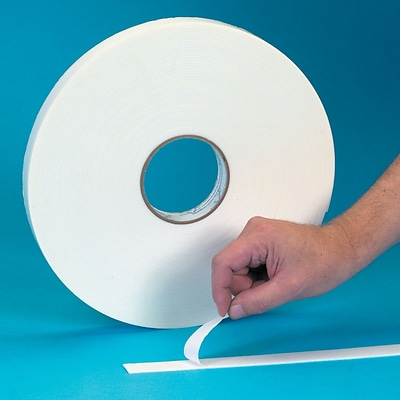 3M™ 1/2 x 72 yds. Double Coated Foam Tape 4032, Off-White