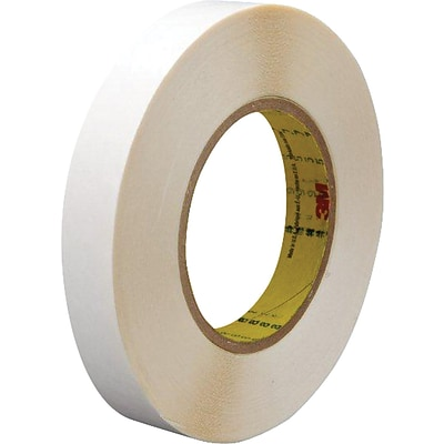 3M™ 1/2 x 36 yds. Double Coated Film Tape 9579, White, 2/Pack