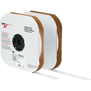 Velcro® 1 x 75 Individual Strips Velcro Tape, Hook, White