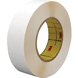 3M™ 1 x 36 yds. Double Coated Film Tape 9579, White, 2/Case
