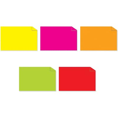 Tape Logic™ 2 x 4 Rectangle Fluorescent Inventory Label, 5000/Pack