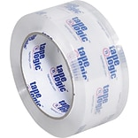 Tape Logic™ 2 x 55 yds. x 3.1 mil Crystal Clear Tape, 36/Case