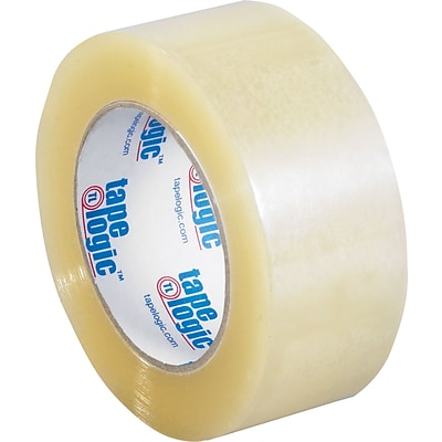 Tape Logic™ 2 x 55 yds. Acrylic Tape, Clear, 36/Case