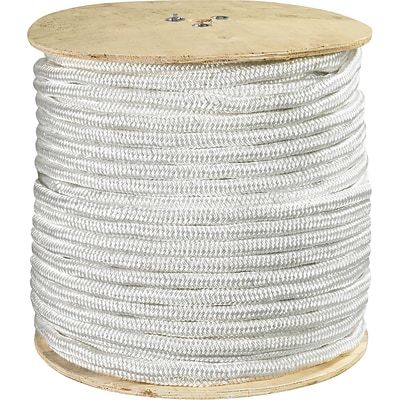 BOX Partners  6500 lbs. Double Braided Nylon Rope, 600