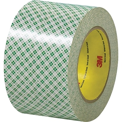 3M™ 3 x 36 yds. Double Sided Masking Tape 410M, Natural, 12 Rolls