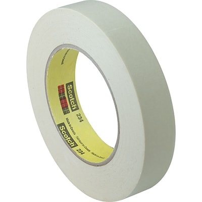 3M™ Scotch® 1 1/2 x 60 yds. x 6 mil Masking Tape 234, Tan, 12 Rolls