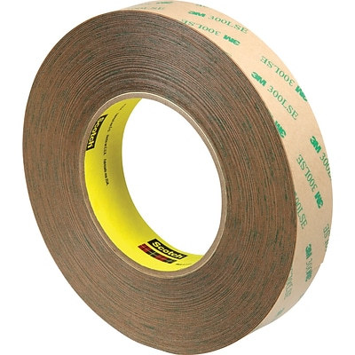 3M™ 1 x 60 yds. Adhesive Transfer Tape 9472, Clear, 9 Rolls/Case
