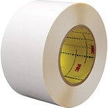 3M™ 2 x 36 yds. Double Coated Film Tape 9579, White, 24/Case