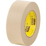 3M™ Scotch® 3/4 x 60 yds. x 6.3 mil Masking Tape 232, 12 Rolls